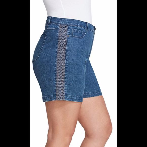 Danica blue jean shorts — foto 5