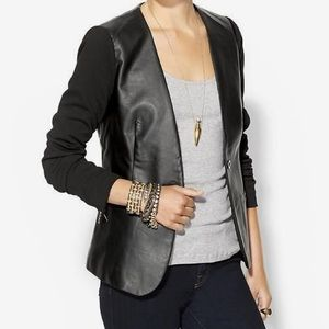 Tinley Road Vegan Leather Jacket
