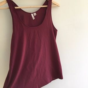 Maroon Frenchie tank-top