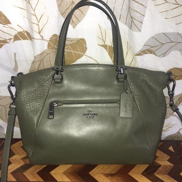 b2757dc0b3c0 Coach Handbags - Coach Prairie Satchel Polished Pebble Leather