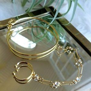Hand gold chain, hand jewelry