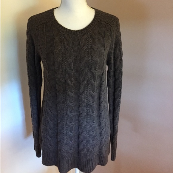 Loft Sweaters Ann Taylor Chucky Cable Knit Sweater Poshmark