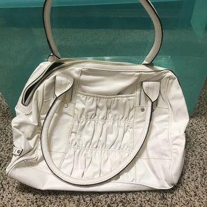White Elle purse