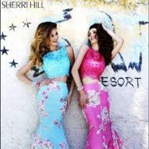 Sherri Hill Floral 32073 Dress