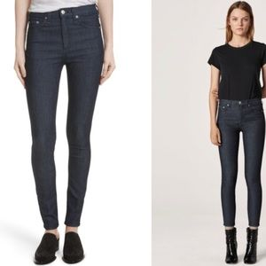 LIKE NEW rag & bone High Waist Skinny Jeans