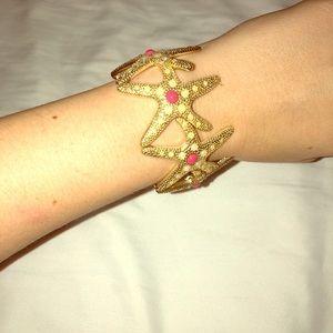 Lilly Pulitzer starfish bracelet