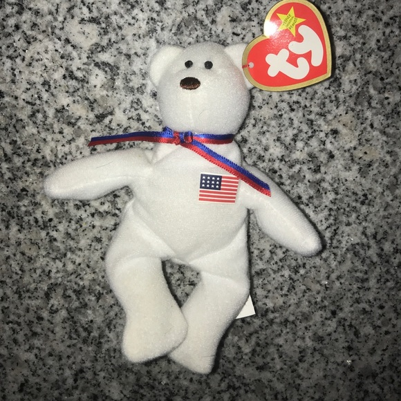 Libearty the bear beanie baby mini 50e329836e2a