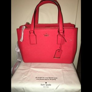 NWT Kate Spade Satchel dust bad included