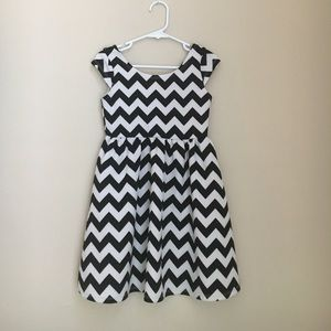 Other - Chevron baby doll dress