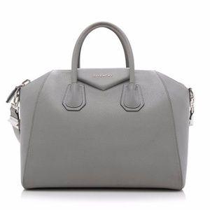 Authentic Givenchy Medium Gray Antigona