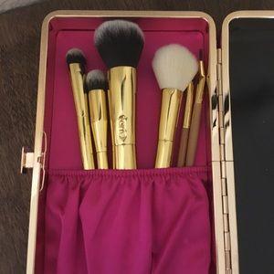 Tarte Brushes and Tarte Brush/Makeup Hard Case