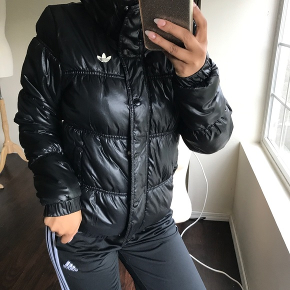 ee3ecc11f3ab adidas Jackets   Blazers - Black adidas originals puffer jacket XS