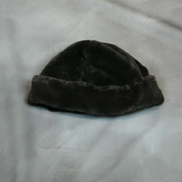 f732747d293 Cejon Accessories - Cejon Dark brown faux fur lined beanie hat