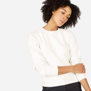 Everlane Slim Classic French Terry Crew Sweatshirt