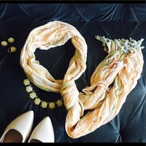 Accessories - 100% Viscose Long/Oblong Scarf