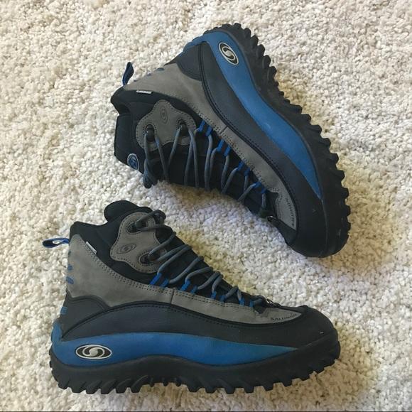 91309b4844b5 Salomon snow boots men 9.5. M 59dd482cfbf6f9497b0000ed