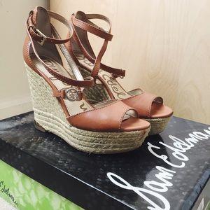 Sam Edelman Turner Espadrille Wedge Sandals