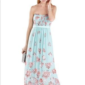 BCBG Maxazria Formal Floral Maxi Dress