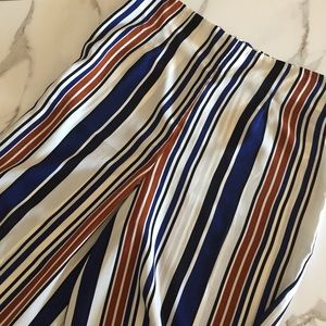 Forever 21 Striped Palazzo Pant