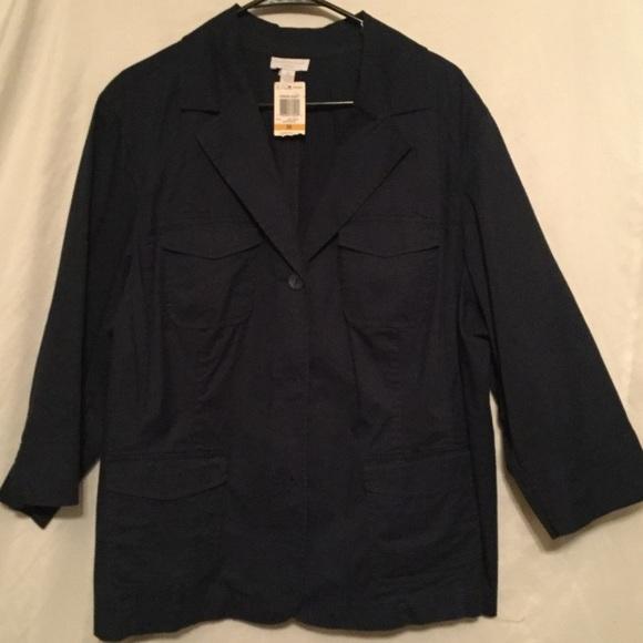 2d574dcf9b0 Charter Club Woman Plus Size 3X Fashion Jacket