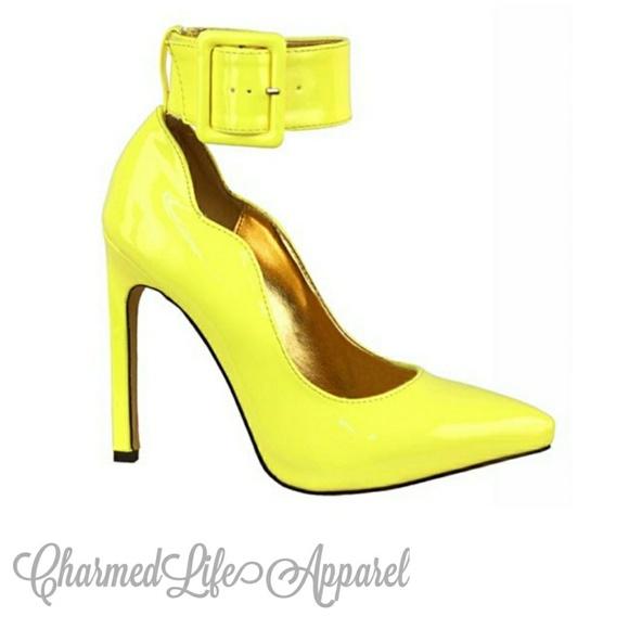 2896485b7cc Yellow Stilettos