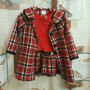 Youngland dress and coat