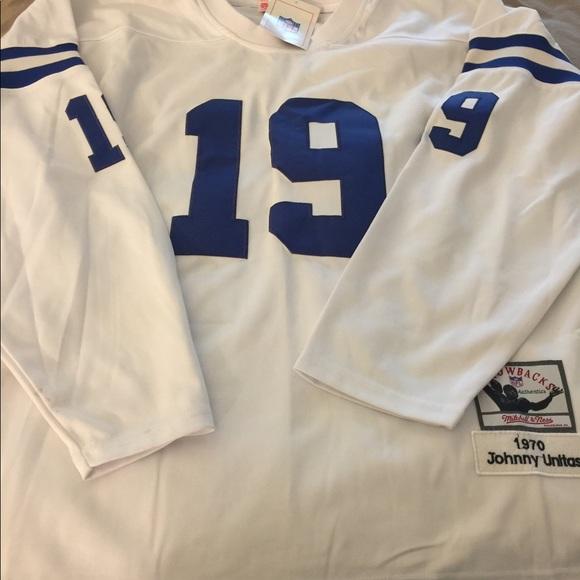 quality design ffa8f 0b5eb Authentic Men's Johnny Unitas Jersey size 52
