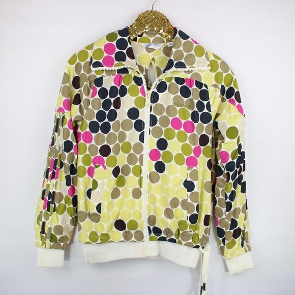 aa3672c93c8f adidas Jackets   Blazers - Adidas Original Polka Dot Colorful Casual Jacket