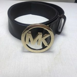 Michael Kors Brown Leather Belt