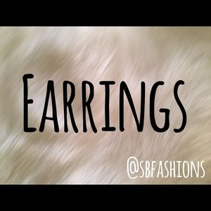 Jewelry - ☀️Earrings!Pierced&Clipons☀️