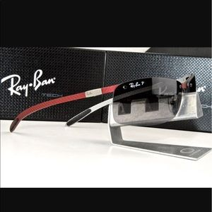 Ray-Ban Carbon Fibre Polarized Sunglasses