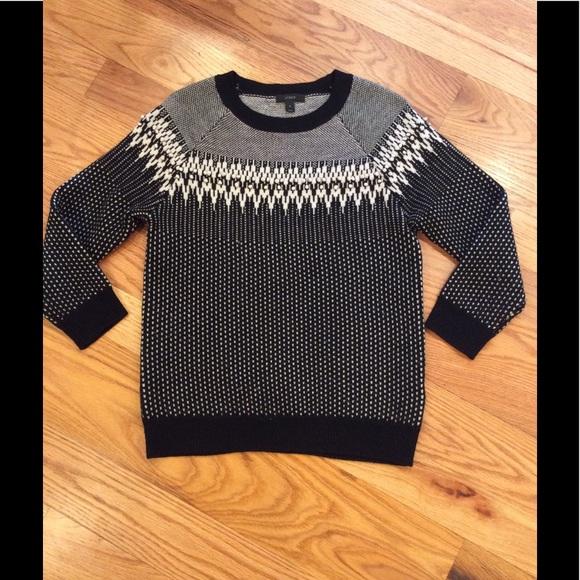 74% off J. Crew Sweaters - J. Crew Merino Fair Isle Sweater in ...