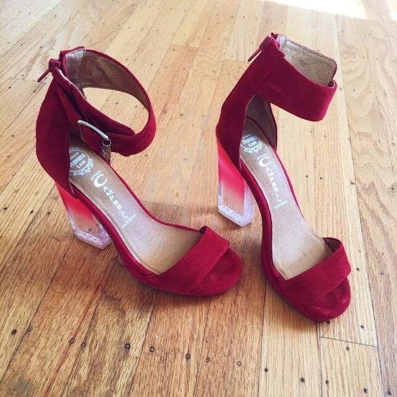 Jeffrey Campbell Shoes - JEFFREY CAMPBELL  ombré lucite heels