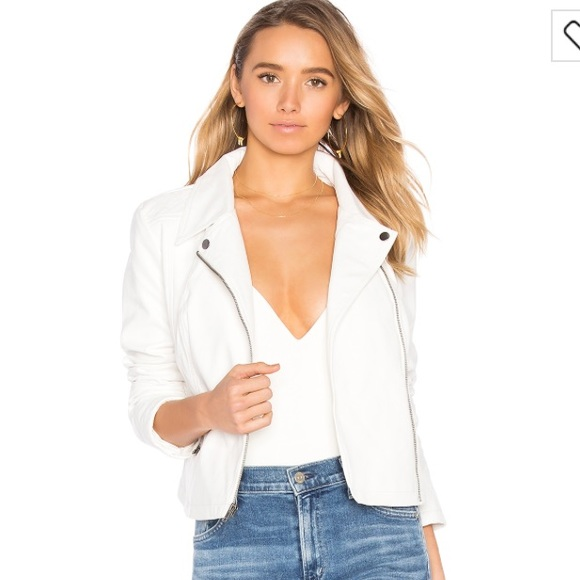 Jack by BB Dakota Jackets & Blazers - BB Dackota white faux leather jacket