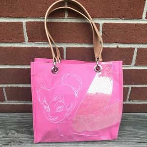 Disney Store- Tinkerbell girls Cotton Canvas Tote