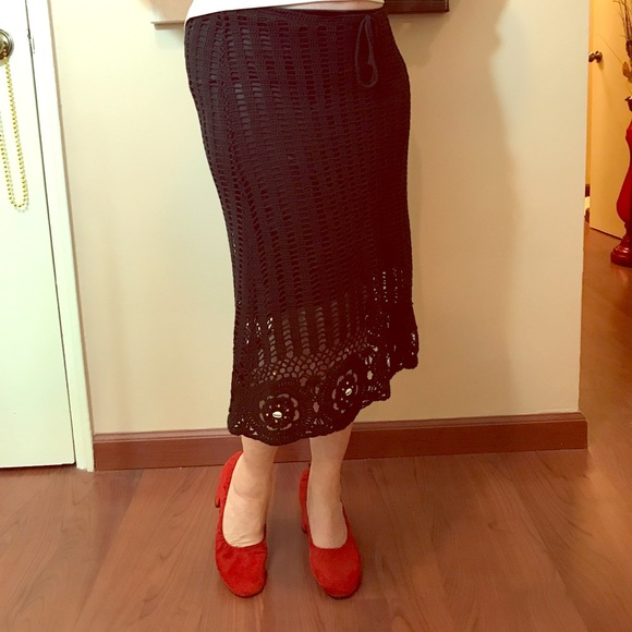 Terranova Dresses & Skirts - Beautiful Crochet Knit Skirt
