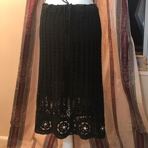 Terranova Skirts - Beautiful Crochet Knit Skirt