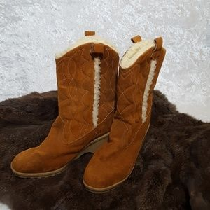 VTG 80's leather boots