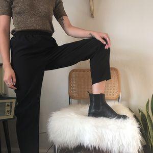 Pants - Vintage Black Trouser Pants