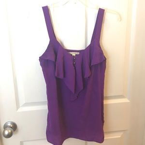 Purple Banana Republic blouse