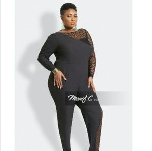 a09f2097f5639 Monif C. Lace jumpsuit