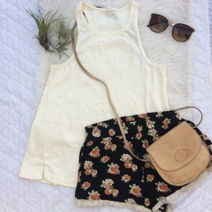 XS Roxy tank with matching XS Forever 21 shorts