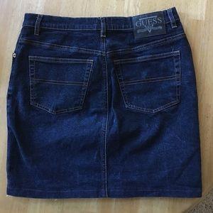Vintage Guess Denim Skirt.