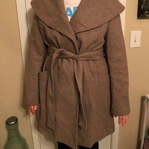 Oatmeal Dress Coat