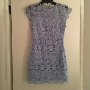 Cap sleeve lace dress-like new!