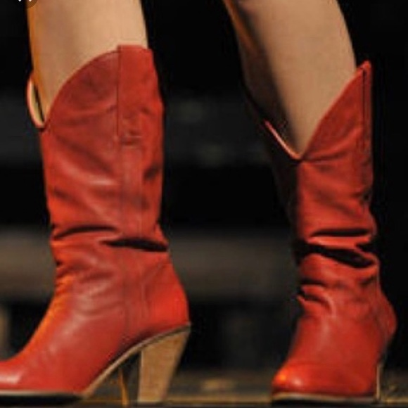 956429a188330 frye Shoes - Red Taylor pull on cowboy boots
