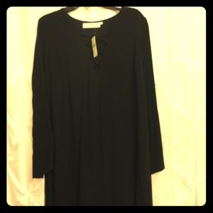 Black longsleeve Astr dress