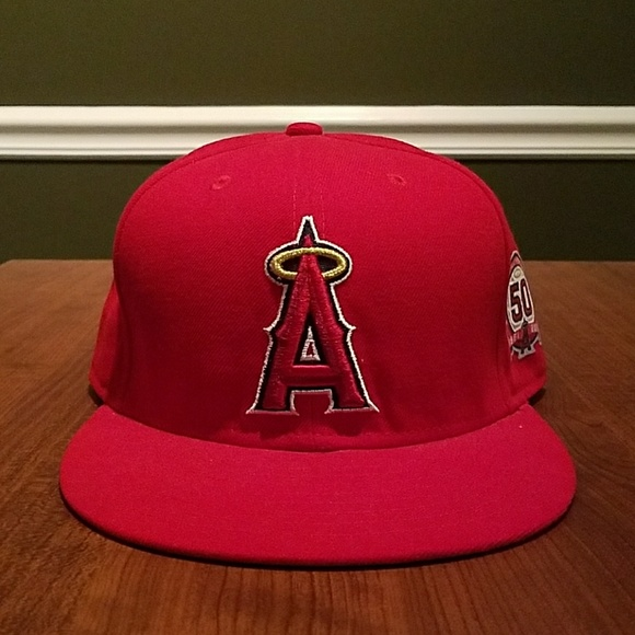 2c3a835f Los Angeles Angels 50th Anniversary Baseball Hat. M_59dd6bf078b31c2c7500b43b