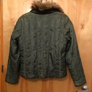 Michael Kors down jacket (detachable  faux fur)