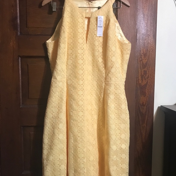 White House Black Market Dresses Yellow Dress Poshmark